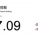 動力推介(12月12日): .....料華潤水泥(1313 HK)全年業績良好。目前彭博預測公司2019年市盈率和周息率分別爲6.1倍和8.1%。