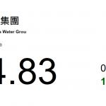 北控水務集團(371):中國水務行業龍頭